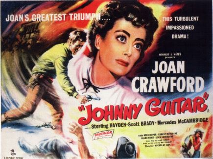 Johnny Guitar-plakat