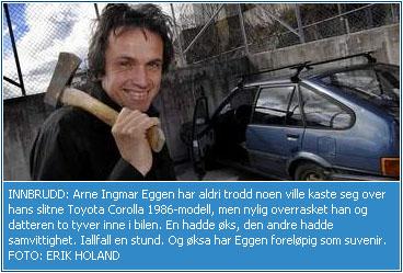 Arne - Øksemorder!
