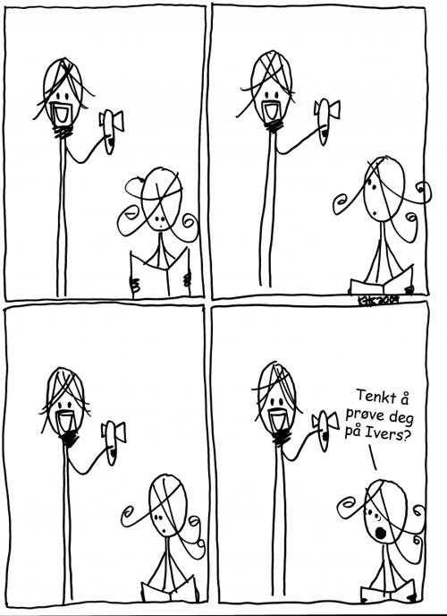Sigurd elsker ikke Ivers
