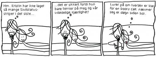 """""""En Iversen om dagen er bra for... alt, egentlig"""" - Kristin Storrusten, 2010"""